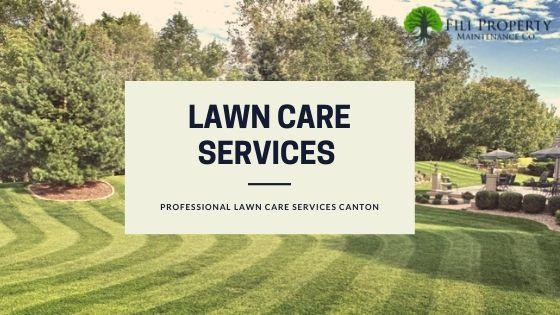 Lawn care services in Canton, Ohio